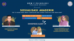 DPM FACULTY OF PSYCHOLOGY OF UMS HAD ACADEMIC SOCIALIZATION